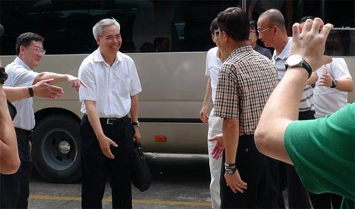 National CPPCC members visited the inspection of Dongguan Alfa