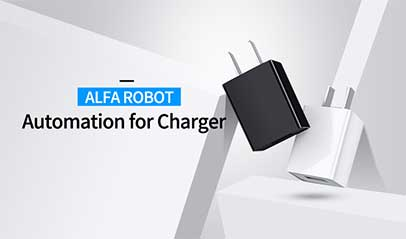 ALFA ROBOT Automation for Charger